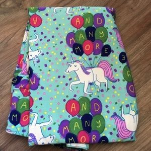 LuLaRoe birthday leggings, unicorns